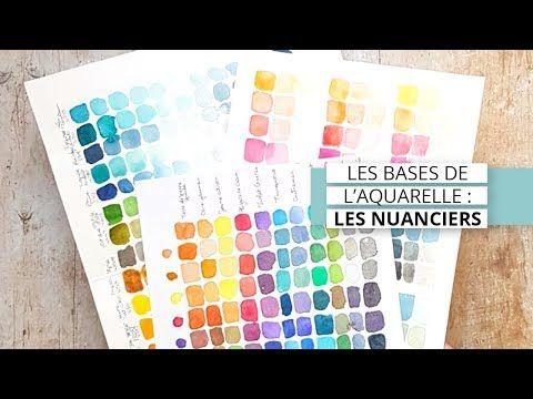 4 Types De Nuanciers A L Aquarelle Les Bases De L Aquarelle