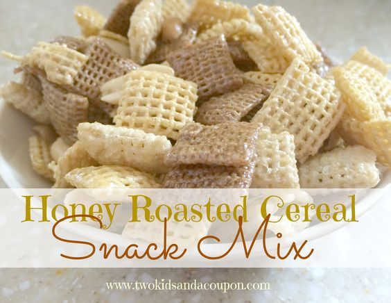 Honey Roasted Cereal Snack Mix