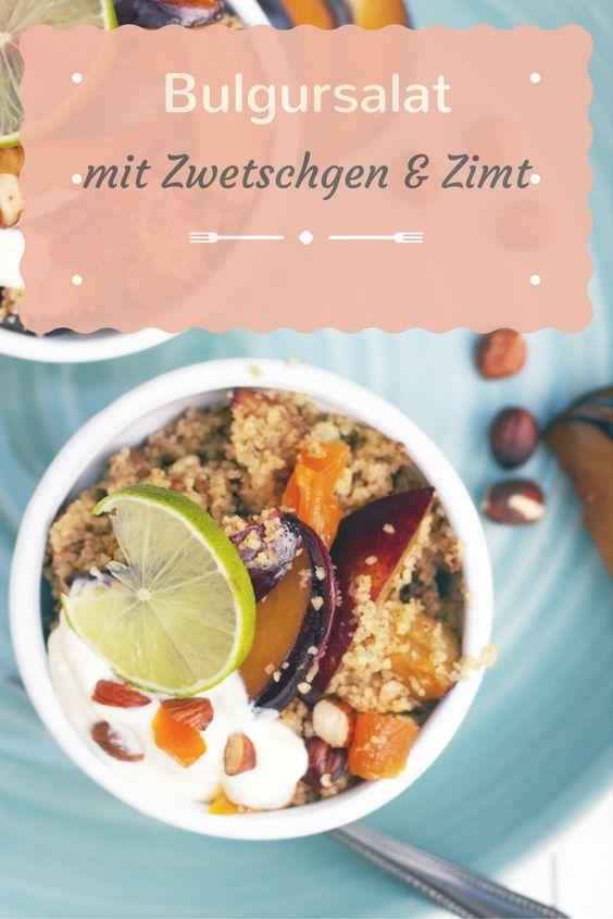 Rezept für Bulgursalat mit Zwetschgen, Zimt und Nüssen für den Calendar of Ingredients von Naschen mit der Erdbeerqueen  http://naschenmitdererdbeerqueen.de/2016/09/13/bulgursalat-mit-zimt-zwetschgen-aprikosen-nuessen/