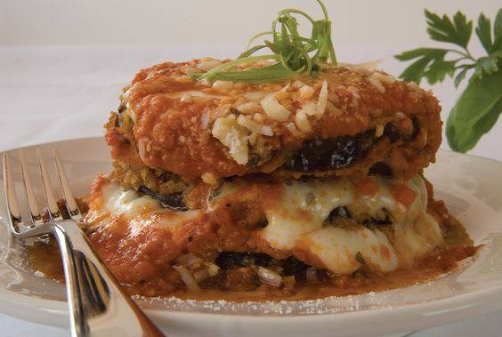 Eggplant Parmesan- YUM! made this last night with eggplant from the garden and pasta sauce canned last year