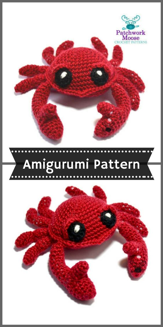 Attractive Lobster Crochet Pattern Elaboration Sewing Pattern