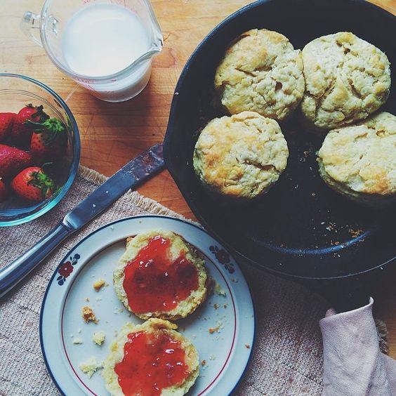 Buttermilk biscuits from @cookathomemom: http://instagram.com/p/mAYMqXCcxr/