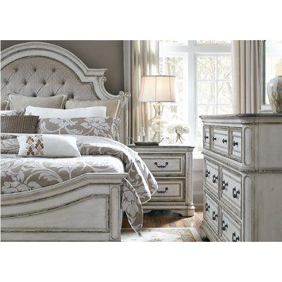 Rosdorf Park Kenton Panel 4 Piece Bedroom Set Wayfair Bedroom Set White Bedroom Furniture King Bedroom Sets