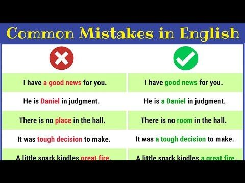Grammatical Errors 170 Common Grammar Mistakes In English 7esl English Vocabulary Words Teaching English Grammar English Grammar