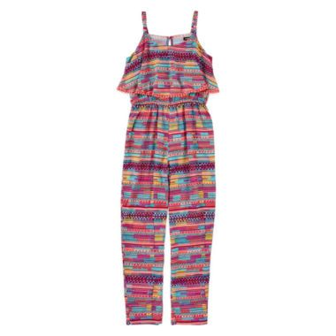 Pinky Popover Jumpsuit – Girls 7-16  found at @JCPenney