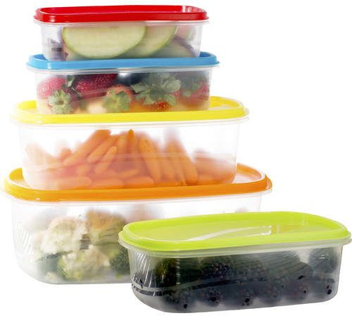 Wayfair Basics Wayfair Basics Plastic 10 Container Food Storage