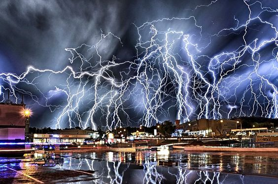 Wicked T-storm in Johannesburg, South Africa ~Laurie~