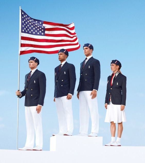 Ralph Lauren debuts Team USA style - check out Lochte!