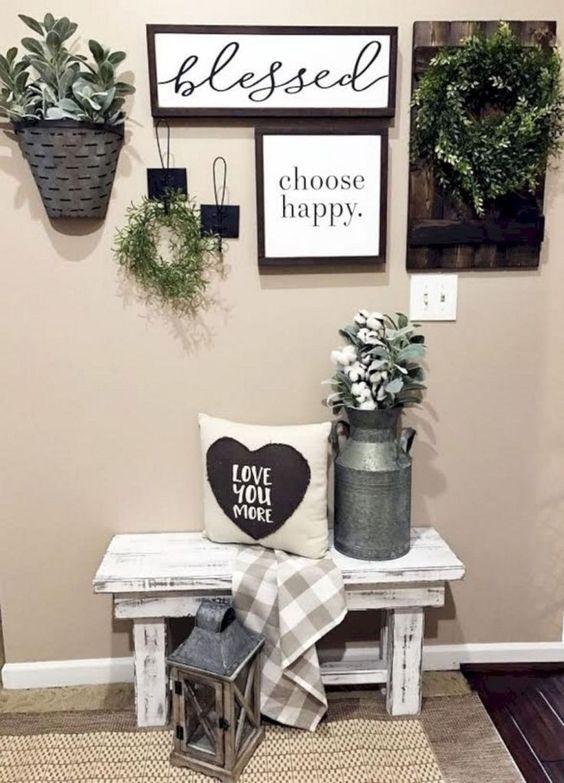 Cute Rustic Living Area