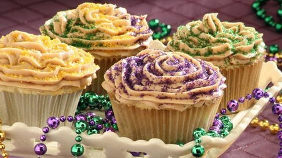 recipe | King Cakes, King and Cupcake