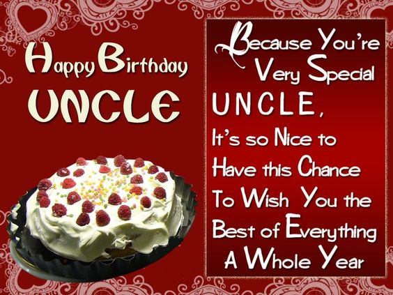 Birthday Wishes For Uncle Health ~ Happy birthday wishes for uncle images pinterest