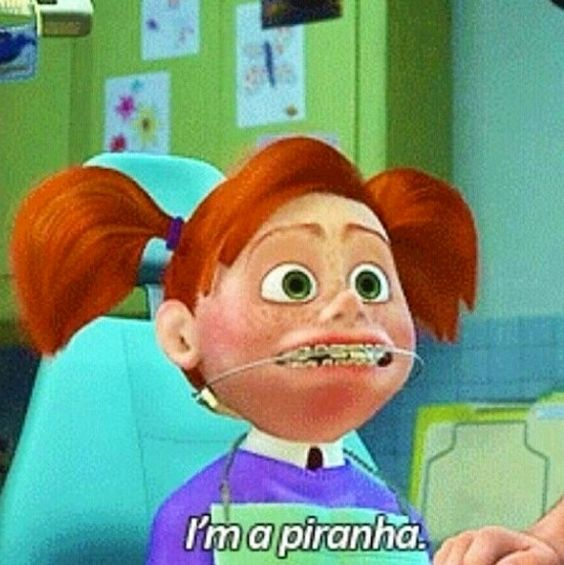 girl from finding nemo braces Finding nemo (2003) box office gross: $ we learn to love nemo and want to strangle the little girl including those to do with movies, dental braces and health.