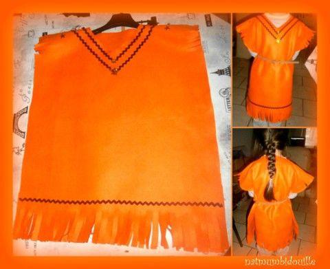 sa robe d 39 indienne sans couture d guisements costumes pinterest tes haute couture. Black Bedroom Furniture Sets. Home Design Ideas