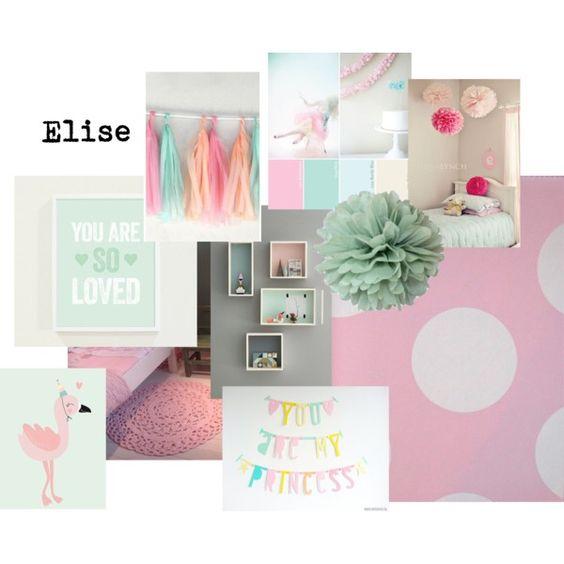 Mint groen en roze peuter kleuter slaapkamer meisje kamer merle pinterest munt for Photo deco slaapkamer meisje