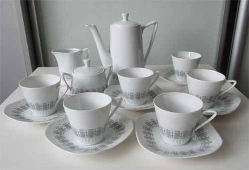 Serwis Helena Millenium Wawel 7384513866 Oficjalne Archiwum Allegro Vintage Bone China Sugar Bowl Set Vintage Art Deco