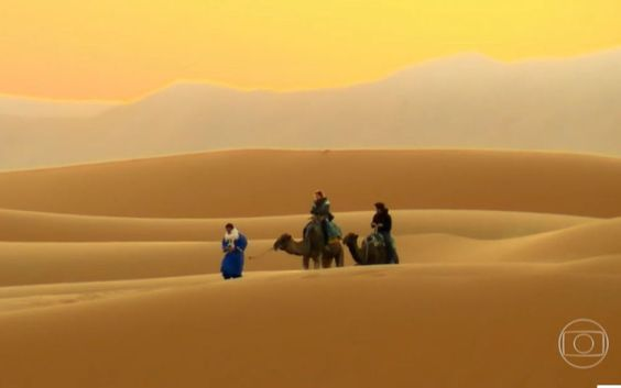 Quando você aceita dar um rolê com os seus amigos é como se estivesse no deserto do Saara