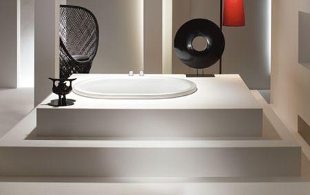 decoración con bañeras modernas