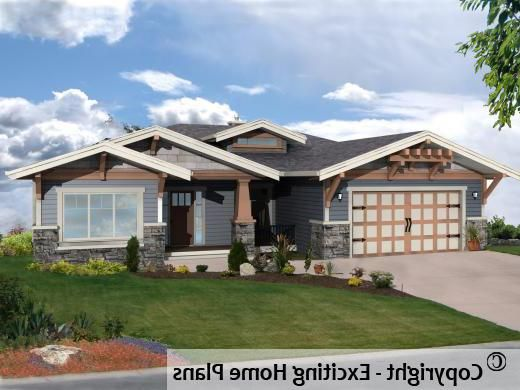 Athabasca 1 Storey W Suite Front View Of House House Plans Front View Of House House