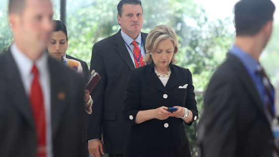 Hillary Clinton used at least eight different mobile devices to send private e-mail during her tenure as secretary of state -- none of which were recovered by the FBI as part of its investigation into her communications practices as the nation's top diplomat.