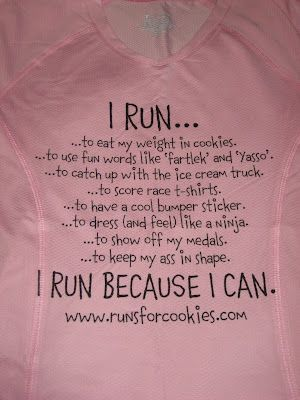 I Run....