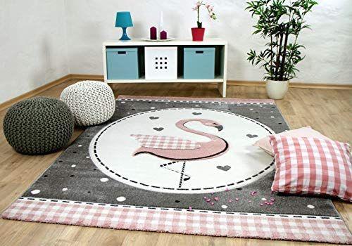 Pergamon Kinder Teppich Maui Kids Pastell Rosa Flamingo In 5 Grossen Schone Teppiche Kinderteppich Teppich Teppich Kinderzimmer Teppich Rosa Rosa Flamingos