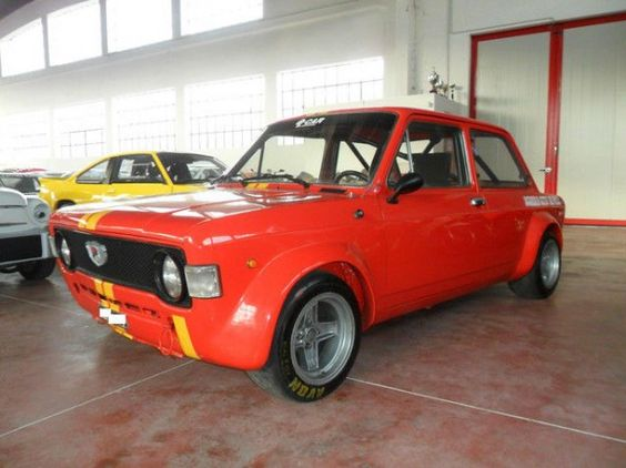 Fiat 128 Giannini Gr 2 Auto Steyr Corsa