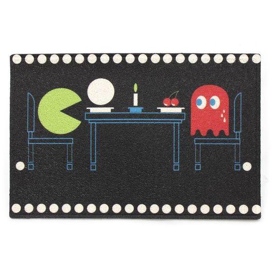 Capacho Pacman - L3 Store - Presentes Criativos