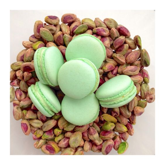 Pistachio Macarons Nationwide Shipping available! www.SwallowMyWords.com