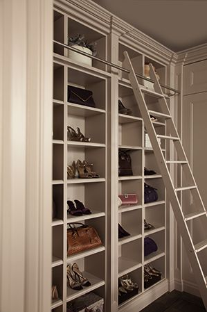 Luxury Fitted Dressing Room Furniture – Neville Johnson - THE LADDER!! WANT