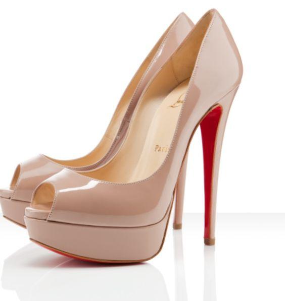 Long heel red bottom 2 | Fashion | Pinterest | Red Bottoms, Heels ...