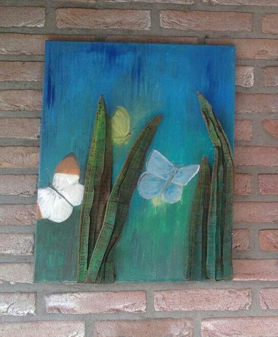 Schilderij op doek voor bijvoorbeeld buiten schilderij for Schilderij buiten intratuin