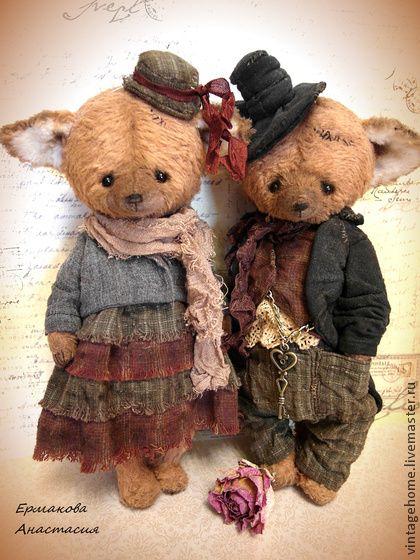 Teddy Bears handmade. Fair Masters - handmade Mr. and Mrs. Liss. Handmade.