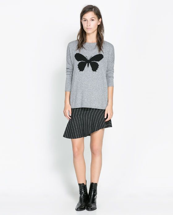 ZARA - WOMAN - OVERSIZE JACQUARD SWEATER