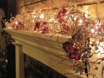 Christmas Garland w/ Lights....