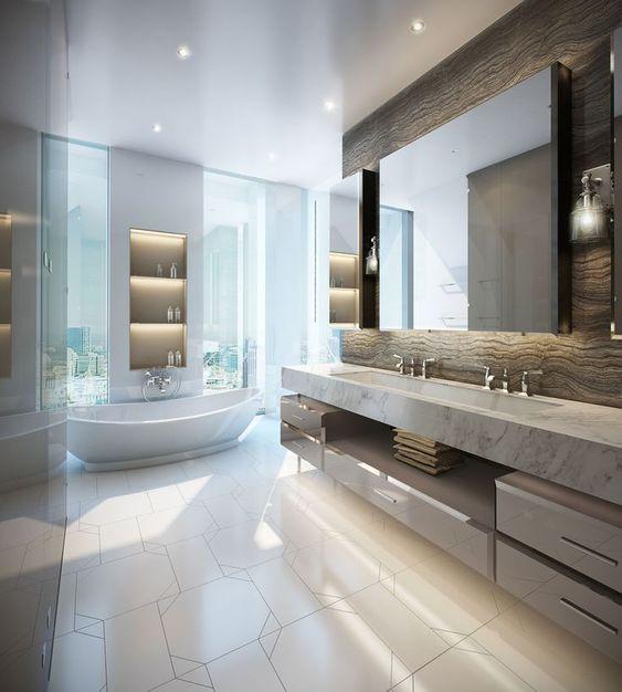 Kleine Moderne Moderne Badezimmer 2020