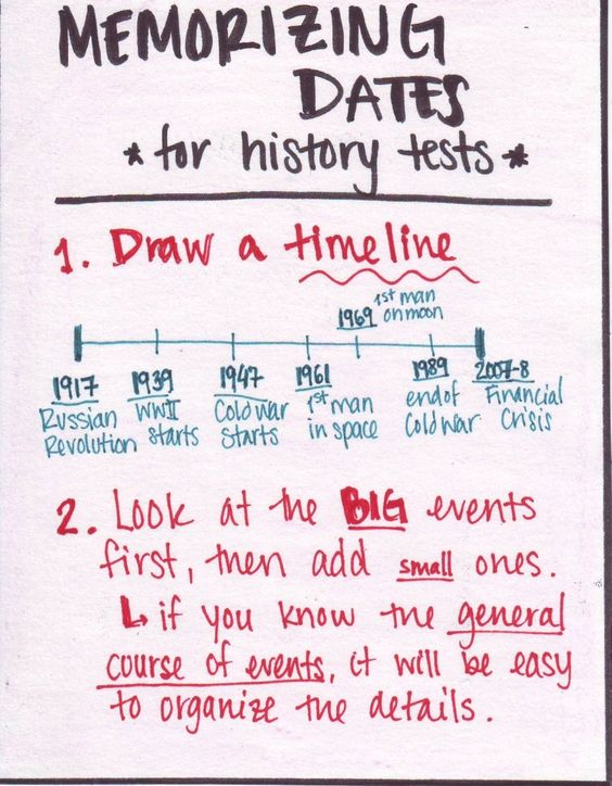 Need advice on how to study for a history midterm?