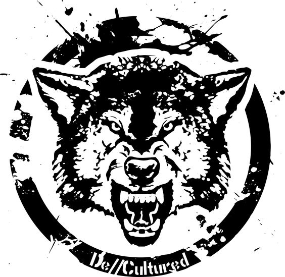 De\\Cultured - Wolf - Urban Design of a Wolf using Stencil Graffiti Style Artwork US Store for Wolf Design : http://decultured.spreadshirt.com/de-cultured-wolf-I1000229160 Facebook Page : https://www.facebook.com/Decultured Twitter Page : https://twitter.com/DeCultured_Co
