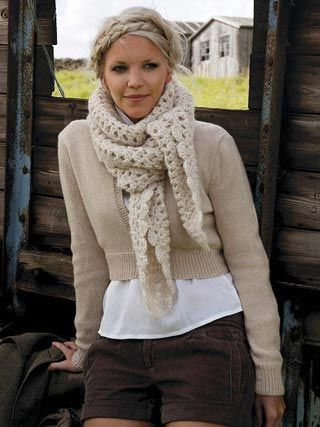 One of the most beautiful scarves I've seen! I need the ...