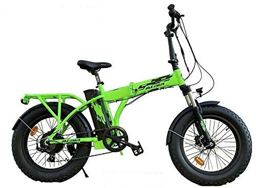 1 259 00 Euro Modello 2020 Atala Pieghevole E Bike Extra Folding 2020 7v Verde Nero Misura 44 Nel 2020 Bicicletta Elettrica Bicicletta Bici