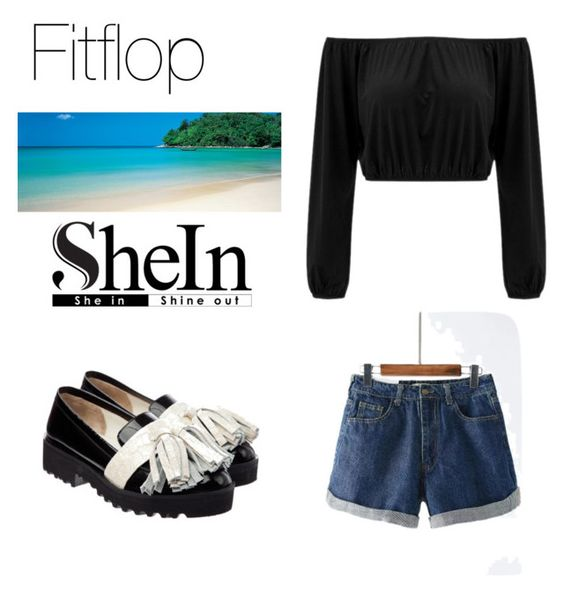 """Shein contest"" by vangababa ❤ liked on Polyvore featuring Anouki"