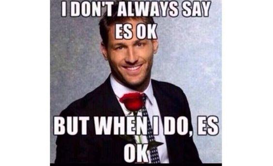 Es okay #JuanPablo:
