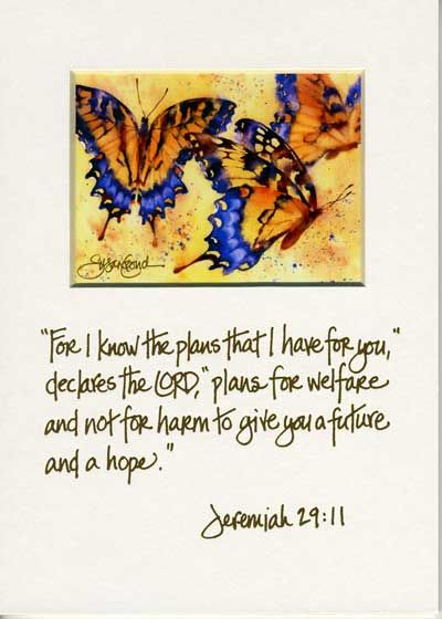 Susan Crouch Watercolor scripture
