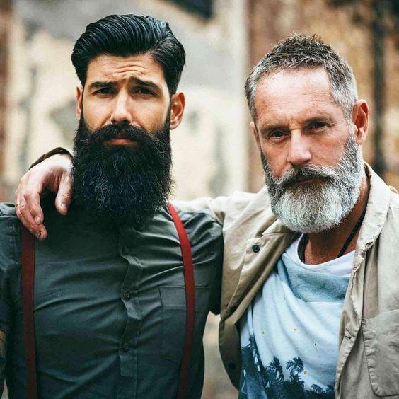 Carlos Costa (@roque_80) and Photographer Tommy Cairns (@tomcairns) photographed by Giulio Aprin (@giulioaprin)for Urban Beardsman Magazine (@urban_beardsman) #beards #urbanbeardsman