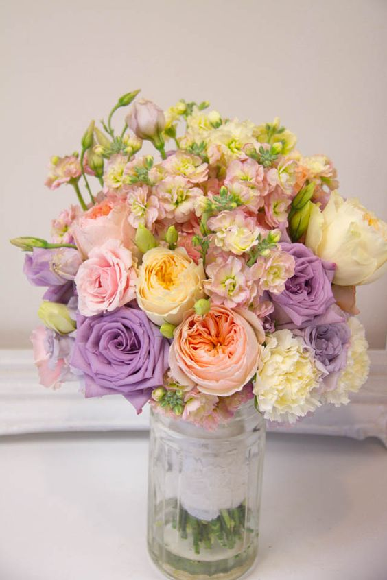 Living Fresh  - Pastel Wedding Flowers