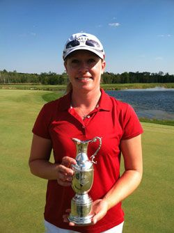 Leah Wigger Captures Three-Stroke Victory at 2012 Island Resort Championship | SymetraTour.com