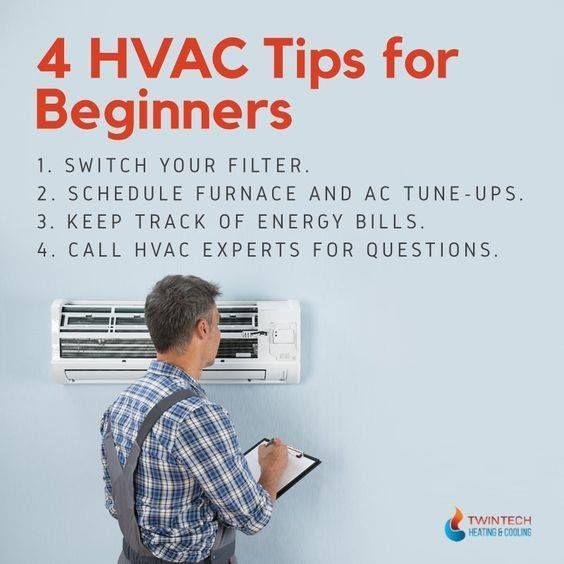 Hvac Tips For Beginners Infographic Hvactips Hvacbeginnerstips