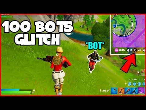 Get 100 Bots In Your Lobby For Fortnite Chapter 2 Fortnite Glitches Ps4 Xbox Pc Youtube In 2021 Xbox Pc Fortnite Epic Games Fortnite