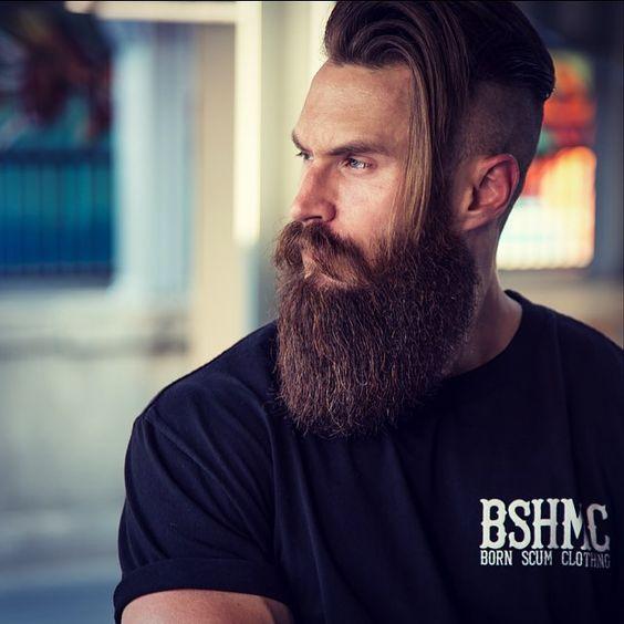 Beards Vikings And Style On Pinterest