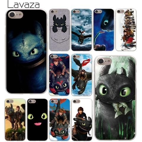 Lavaza Toothless Train Your Dragon Hard Phone Cover Case for Apple ...