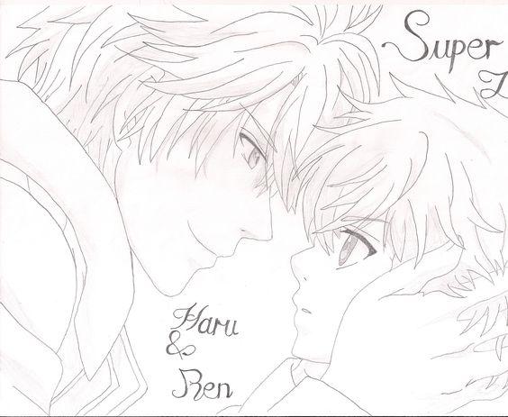 Super Lovers Haru & Ren HandMade